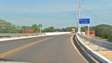 Governo de MT inaugura primeira obra da Copa em Cuiabá - O governo inaugurou a primeira obra da Copa em Cuiabá.