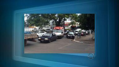 Telespectador flagra infração de trânsito em Cuiabá - Um telespectador flagrou uma infração de trânsito em Cuiabá.