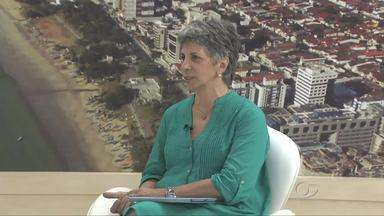 Diretora da Escola de Artes da Ufal fala sobre as obras de Vinícius de Moraes - Rita Namé é uma estudiosa das obras de Vinicíus e deu até uma palestra na Bienal do Livro sobre assunto.