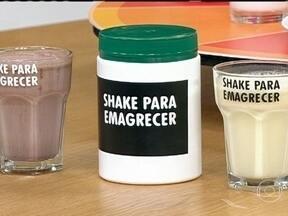Shakes para emagrecer podem ser usados a longo prazo - Desde que o shake tenha uma boa composição de substâncias ele pode ser substituto de uma refeição. O importante é não pular refeições.