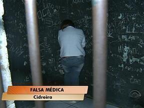 Falsa médica é presa em Cidreira, RS - Falsária utilizava documentos de profissional do MG.