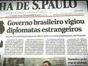 GSI divulga nota sobre denúncias de monitoramento da Abin - O Gabinete de Segurança Institucional confirma que as operações foram realizadas. Disse que elas se referem a atividades de contra-inteligência e que obedeceram à legislação brasileira. A Abin monitorou diplomatas estrangeiros em Brasília.