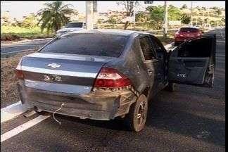 Após acidente, jovem é preso por porte ilegal de arma - No fim semana, mais de 30 motocicletas foram apreendidas por irregularidades na região Cariri.