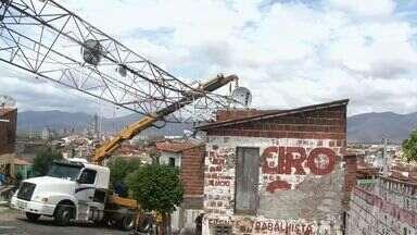 Chuva forte causa estragos em Sobral, no interior do Ceará - Estado sofre uma das piores secas da história.