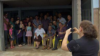 Família se reencontra após quase 60 anos - O MSTV contou a história de Sebastião, de 92 anos, em dezembro de 2012