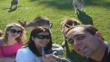 Brasileiro agredido na Austrália tem morte cerebral atestada - O brasileiro foi agredido e permaneceu internado em estado grave. Segundo a família, a morte cerebral de Lúcio Rodrigues, de 34 anos, foi atestada nesta segunda-feira (4). Rodrigues, de Capivari, foi atingido durante uma briga em um supermercado.
