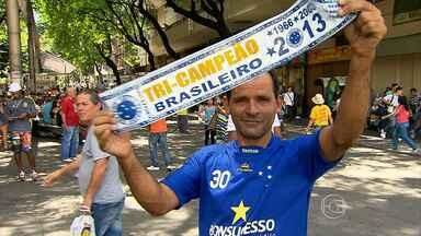 Cruzeiro pode ser campeão na próxima rodada - Time celeste joga contra o Grêmio