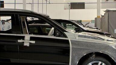 Cresce a procura por carros blindados no Ceará - Serviço de blindagem custa até R$ 45 mil.