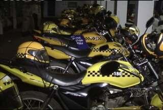 Em Balsas, 120 mototaxistas recebem licenças para trabalhar - Motocicletas foram padronizadas