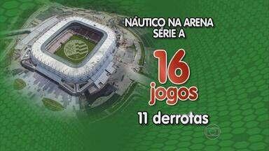 Alvirrubros comentam campanha do Náutico na Arena PE - Time perdeu 11 dos 16 jogos no novo estádio