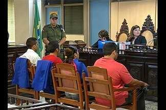 Termina julgamento dos quatro réus acusados de matar uma funcionária pública, em Belém - O repórter Márcio Lins fala do Fórum Criminal da capital.