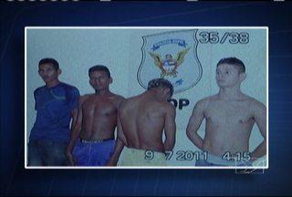 Polícia prende integrantes de quadrilha que assaltava residências na região metropolitana - Em três dias, duas casas foram assaltadas pelo bando: uma no Araçagy e outra no Ipem-Turu. Segundo a polícia, o grupo agia com violência, roubava pertences e o veículo da família.