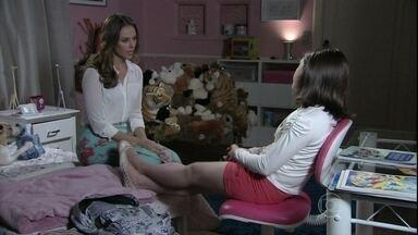 Paloma convence Paulinha a se desculpar com Bruno - No entanto, a menina vai contrariada