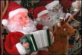 Lojas de decoração de Natal de Santa Maria, RS, projetam aumento de 30% nas vendas - As vendas de produtos de decoração começou ainda em outubro, segundo os lojistas.