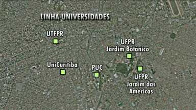 Siga Curitiba - A Linha Universidades começa a funcionar hoje e vai atender três mil estudantes por dia.
