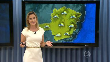 Previsão é de calor até esta quarta-feira (13) em regiões de Minas Gerais - Temperaturas podem passar dos 34ºC.