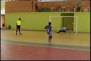 Grande campeão feminino da Copa Inter TV de Futsal foi conehcido em Coração de Jesus - Sólido/Montes Claros ficou com o título.