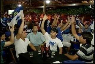 Cruzeiro é campeão brasileiro de 2013 - Torcedores lotaram as ruas de Montes Claros para comemorar o título.