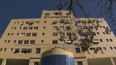 Dívidas podem fechar o Hospital Evangélico - Hospital é um dos maiores do estado, e referência nacional no tratamento de queimados.