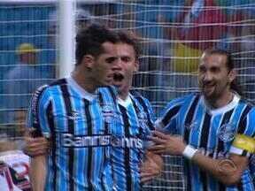 Grêmio venceu o Vasco por 1 a 0 nessa quarta-feira pelo Brasileirão - Tricolor gaúcho voltou a fazer gol depois de mais de 600 minutos.