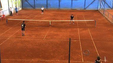 Dezesseis tenistas de MS participam da Copa das Confederações no DF - Dezesseis tenistas de MS participam da Copa das Confederações no DF