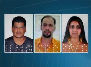 Dois casais são presos suspeitos de estelionato em Bonito, no Agreste - Segundo polícia, suspeitos tentavam vender celulares falsificados. Casais ainda poderão ser acusados de formação de quadrilha.