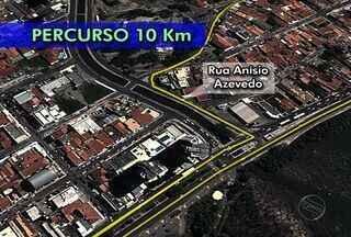 Confira os percursos de 5km e 10km da edição 2013 da Volta de Aracaju - Trajeto sofreu algumas mudanças em relação ao ano passado. Prova acontece no dia 15 de novembro