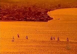 Competição Náutica Mundial ocorre na Beira Mar Norte de Florianópolis - Competição Náutica Mundial ocorre na Beira Mar Norte de Florianópolis