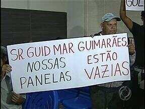 Revelação de um sócio oculto da Iguaçu do Brasil renova esperança dos ex-funcionários - Os operários alegam que não receberam os direitos trabalhistas da construtora. O sócio oculto, revelado pela Justiça, teria patrimônio para garantir o pagamento dos ex-funcionários. A dívida com eles chega a R$ 1 milhão.