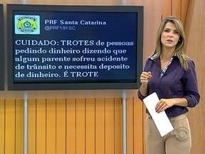 PRF alerta para golpe do acidente de trânsito - PRF alerta para golpe do acidente de trânsito