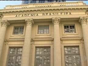 Exposição mostra os 116 anos de história da Academia Brasileira de Letras - São caricaturas, fotos e vídeos da primeira sessão da academia, em 1897, até os dias de hoje. Os imortais têm destaque na exposição.