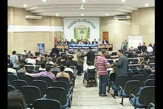 Em Marabá, advogados denunciam a violência contra a categoria - Em Marabá, advogados participaram de sessão na câmara de vereadores para denunciar a violência contra a categoria