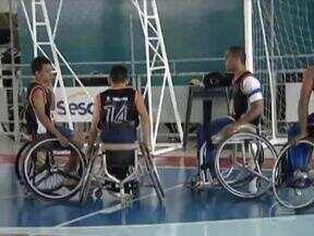 Time de basquete do Piauí, Ascamte, treinam para participar de Campeonato Brasileiro - Time de basquete do Piauí, Ascamte, treinam para participar de Campeonato Brasileiro
