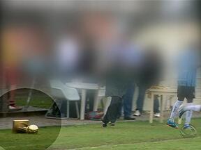 Gre-Nal sub-16 termina em confusão em Eldorado do Sul, RS - Inter venceu o jogo por 2 a 1.