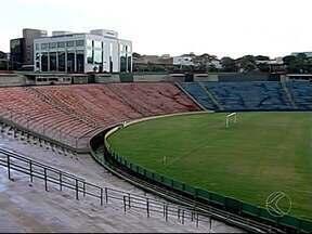 Estádio Uberabão recebe melhorias para 2014 - Pintura e instalação de cadeiras são as novidades para atrair o público para a próxima temporada