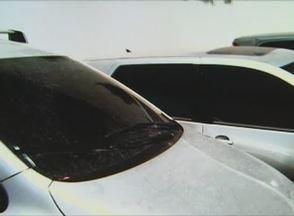 Polícia apreende carros roubados e usados por índios em Águas Belas - Veículos eram provenientes de seis estados: AL, SE, RN, SP e MG. Dois homens foram presos e outros três detidos foram liberados em seguida.