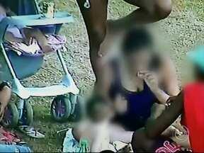 Cameras da Guarda Civil flagram mães usando drogas na frente dos filhos em Sorocaba - Imagens foram registradas em praça no Vitória Régia, bairro da zona norte da cidade, e serão encaminhadas ao Conselho Tutelar. Uma das mães registradas tem apenas 15 anos.
