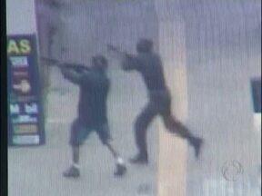 Polícia identifica bandidos que assaltaram Banco Sicredi - Os assaltantes são conhecidos da polícia e considerados perigosos.