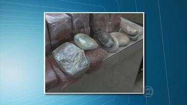PF apreende 40 quilos de pasta-base de cocaína em Paulista, PE - Três homens que estavam com a droga foram presos.