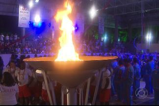 Veja como foi a abertura dos Jogos Regionais do Sesi em João Pessoa - As delegações da Paraíba, Alagoas, Sergipe, Pernambuco e Bahia participaram na solenidade no Sesi do Distrito Industrial.