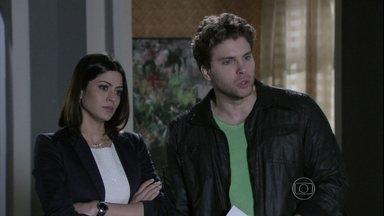 Bruno revela a Niko que Amarilys queria superfaturar a avaliação da casa - A médica nega e tenta se passar por vítima. Niko fica revoltado