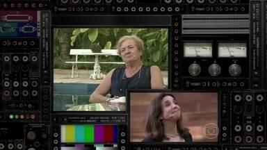 Marisa Orth emociona-se com depoimento da diretora do colégio - Colega de classe de Marisa vai ao palco do Vídeo Show e surpreende atriz