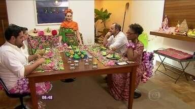 Programa relembra o jantar praiano oferecido por Ane no Jogo de Panelas VIII - Com cardápio a base de frutos do mar, ela agrada os concorrentes