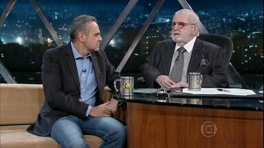 Jô entrevista Luis Roberto - O narrador e apresentador do Esporte da Globo vem ao programa contar histórias da vida e carreira