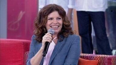 Atrizes falam como se sentem no palco - 'Quando você fala de palco, pensa em público', diz Déborah Bloch