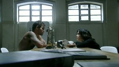 Ninho e Aline confabulam - Eles acabam fazendo amor