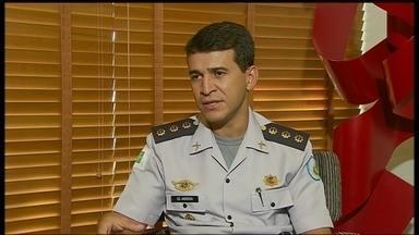 Polícia Militar do DF tem novo comandante - O coronel Anderson Carlos Moura assume o cargo no lugar de Josiel de Melo Freire, que caiu depois da polêmica sobre a suspensão do convênio de saúde da PM.