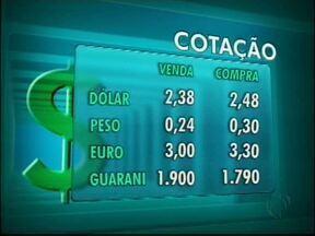 Confira a cotação das moedas para esta quinta-feira - Veja quanto valem as moedas que circulam na fronteira.