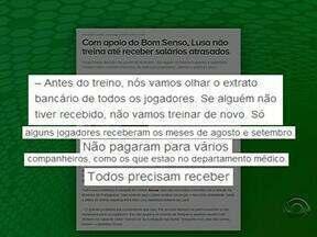 Devido a atraso salarial, jogadores da Portuguesa não participam de treino - Lusa é o adversário do Grêmio na última rodada do Brasileirão.