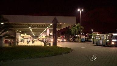 Imagens ajudam na busca dos suspeitos de terem assaltado terminal na Grande Vitória, no ES - Os suspeitos levaram armas e equipamentos dos seguranças do terminal de Campo Grande.